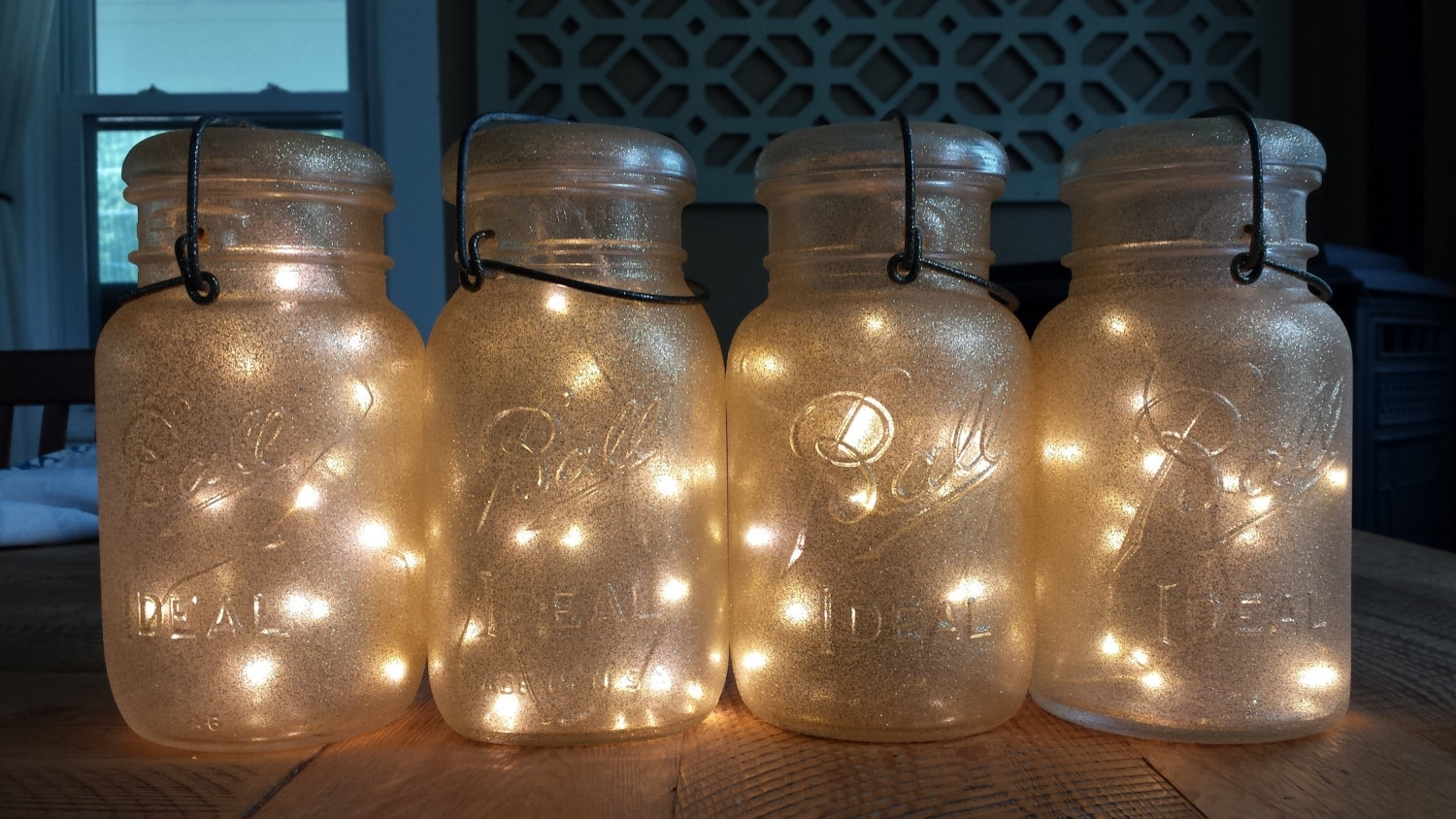 Outdoor Lighting Makeovers Hanging Battery Operated Lights Il In Outdoor Hanging Mason Jar Lights (#11 of 15)