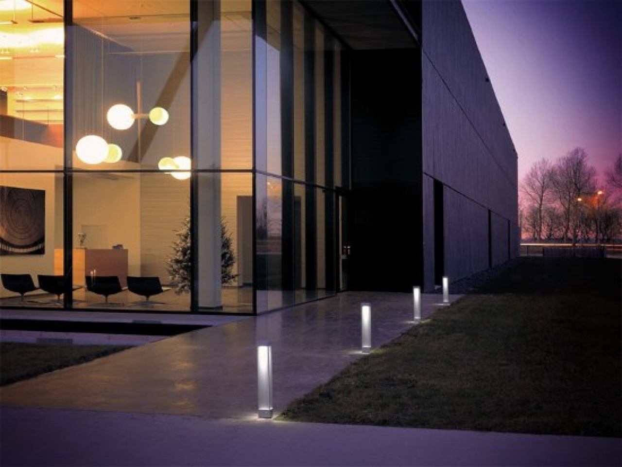 Outdoor Lighting: Trendy Outdoor Lighting 2018 Collection Solar Wall Within Contemporary Porch Light Fixtures For Garden (#11 of 15)
