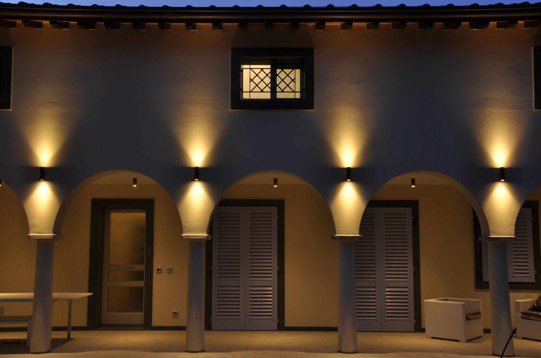 15 Collection of Outdoor Wall Sconce Up-Down Lighting