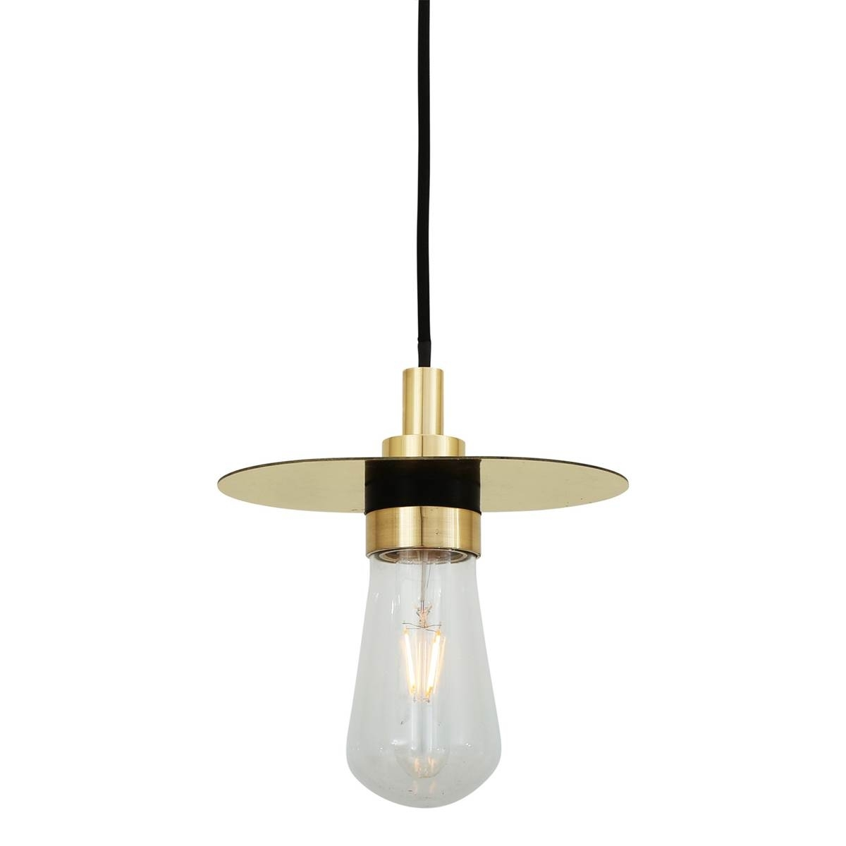 Outdoor Pendant Light Crystal Pendant Light' Brushed Nickel Mini With Outdoor Hanging Lights At Amazon (View 14 of 15)