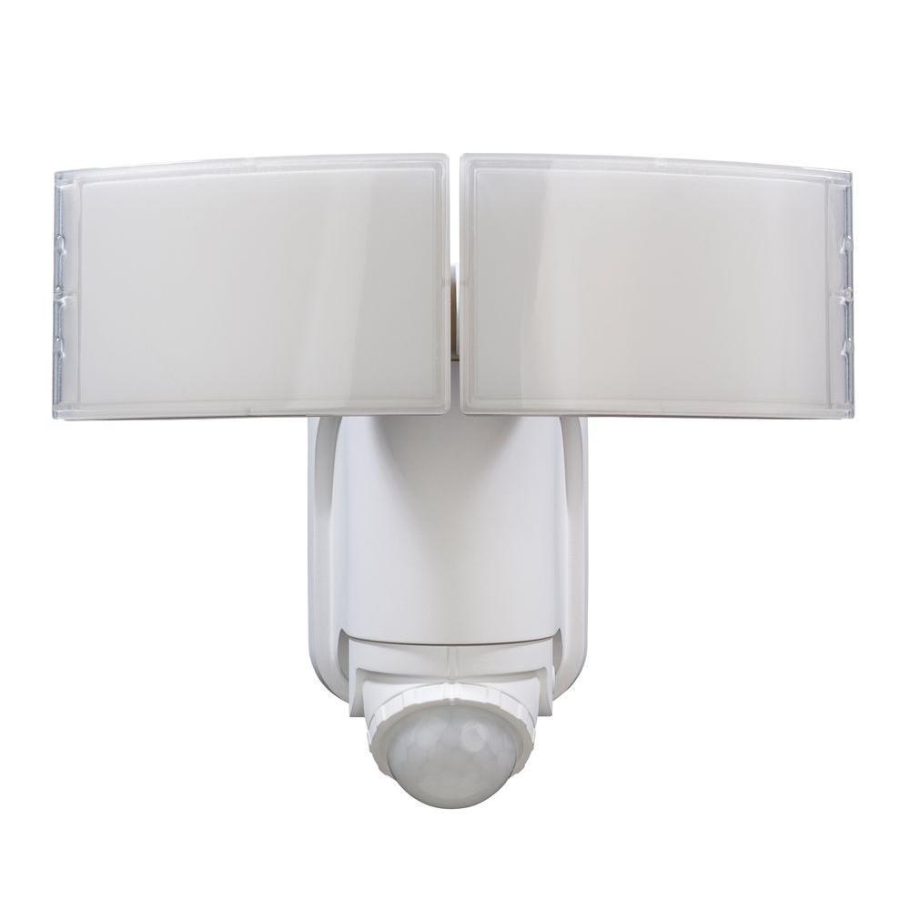 Outdoor Security Lighting – Outdoor Lighting – The Home Depot For Outdoor Ceiling Security Lights (View 11 of 15)