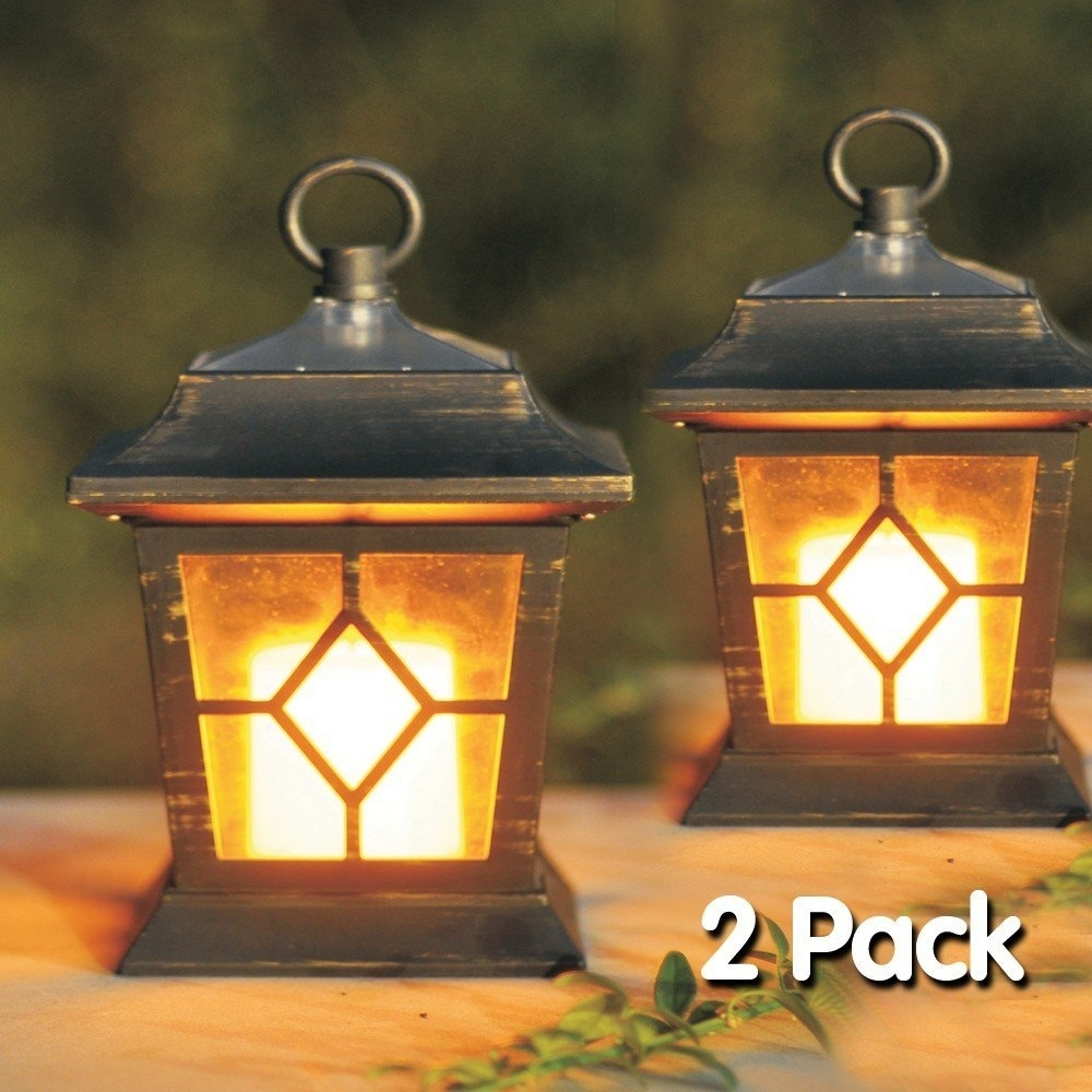 Outdoor Solar Christmas Lanterns | Diy #2 Outdoors | Pinterest Within Outdoor Hanging Solar Lanterns (#9 of 15)
