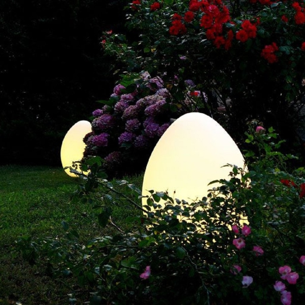 Outdoor Solar Lights Oval : All About Outdoor Solar Lights In Modern Outdoor And Garden Solar Lights (#11 of 15)