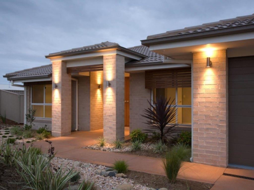 Outdoor Stone Wall Lighting Ideas • Lighting Ideas With Regard To Outdoor Stone Wall Lighting (#8 of 15)
