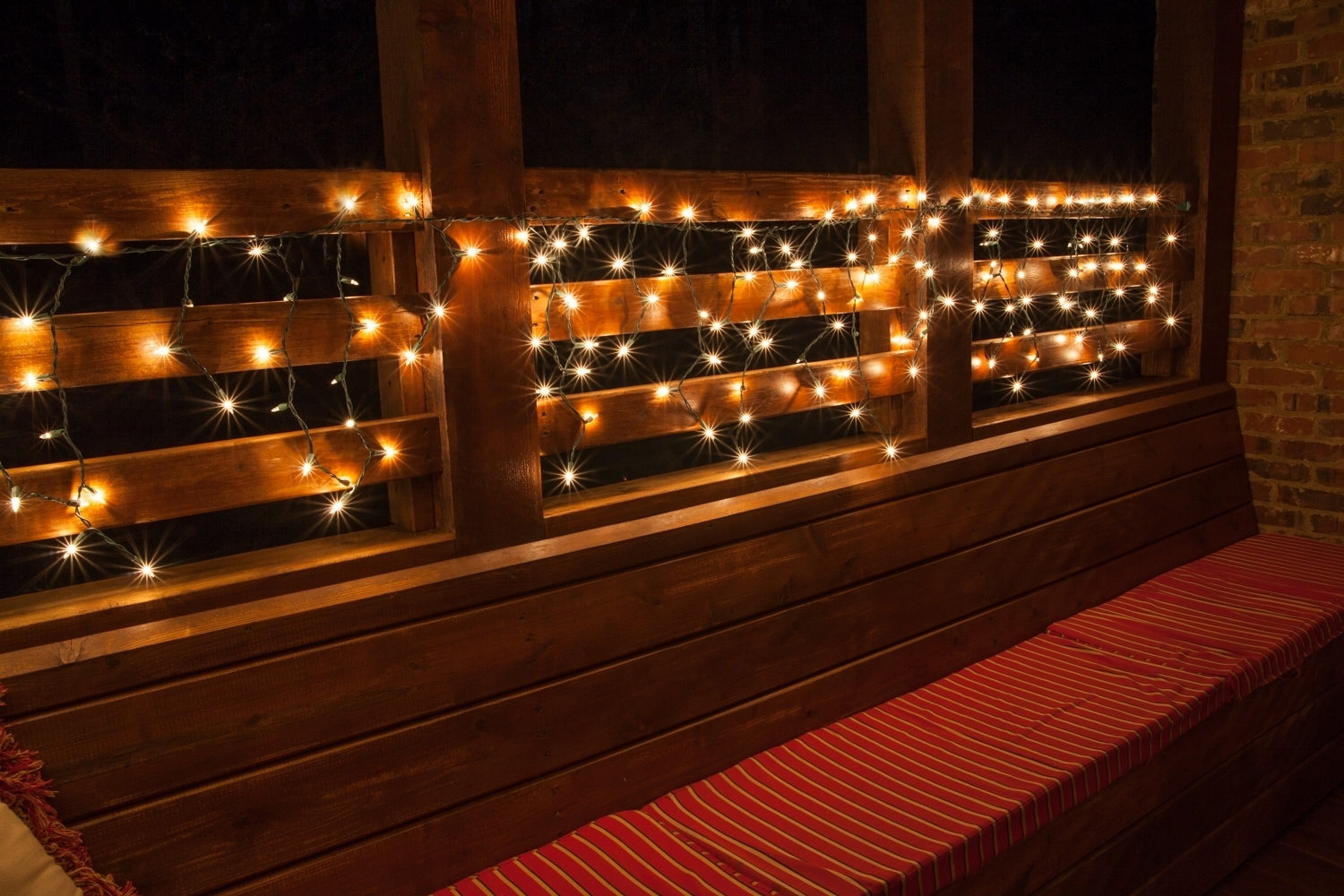 Outdoor String Lighting For Decks • Outdoor Lighting With Outdoor Hanging String Lanterns (View 14 of 15)