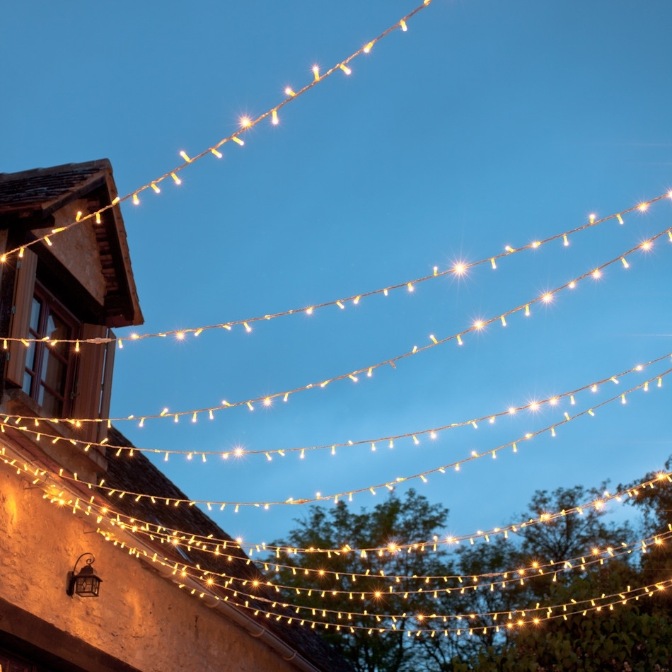 Outdoor String Lights Ideas : Appealing Outdoor String Lights Garden Pertaining To Outdoor Hanging Fairy Lights (#12 of 15)