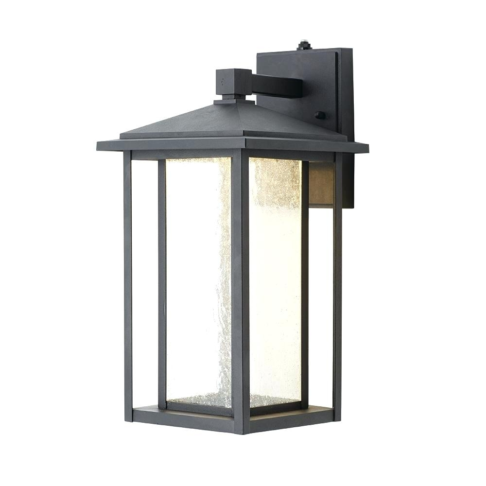 Outdoor Lamp Clearance: 15 Inspirations Of Outdoor Wall Lighting With Outlet