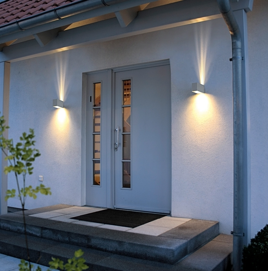 Outdoor Wall Lighting To Beautify Home Design – Interior Decorating Inside Outdoor Home Wall Lighting (View 9 of 15)