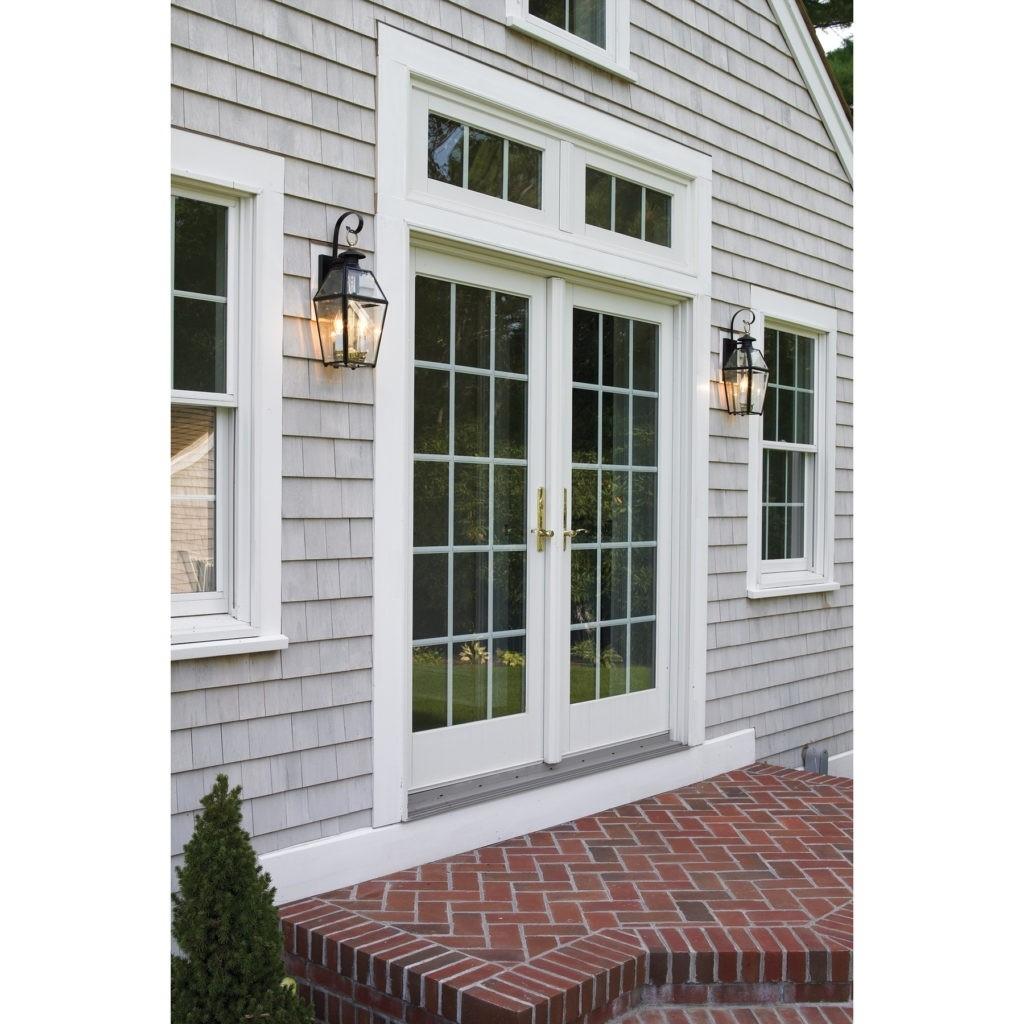 Outdoor Wall Lighting Wayfair Exterior Light Fixtures Wall Mount Within Modern Garden Porch Light Fixtures At Wayfair (#11 of 15)