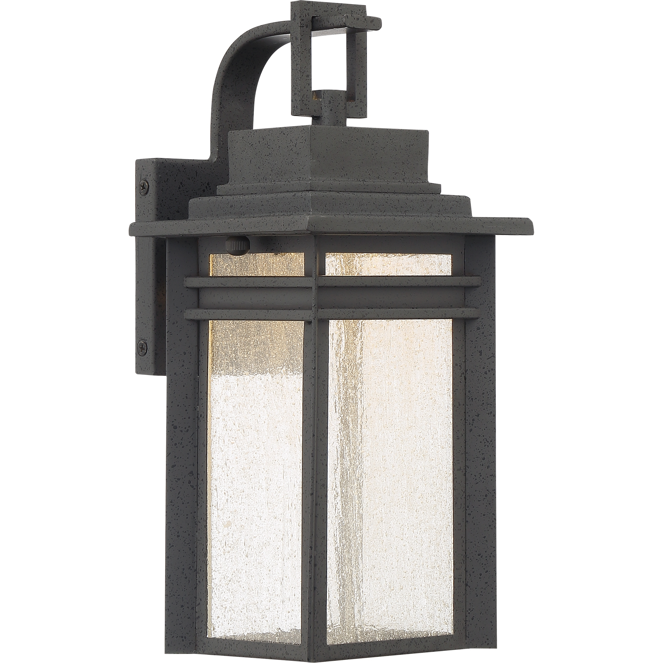 Outdoor Wall Lightquoizel | Bec8406Sbk For Beacon Outdoor Wall Lighting (#11 of 15)