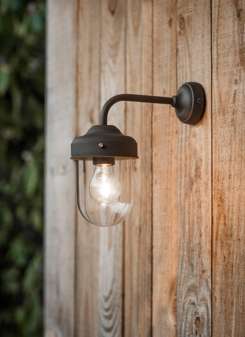 Outdoor Wall Lights | Garden Lamps | Porch Lights | Ip44 Rated With Regard To Outdoor Hanging Wall Lights (#14 of 18)