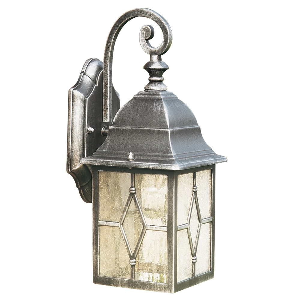 Outdoor Wall Lights | Wall Lights For Outdoors | Lights4Living With Regard To Endon Lighting Outdoor Wall Lanterns (#15 of 15)