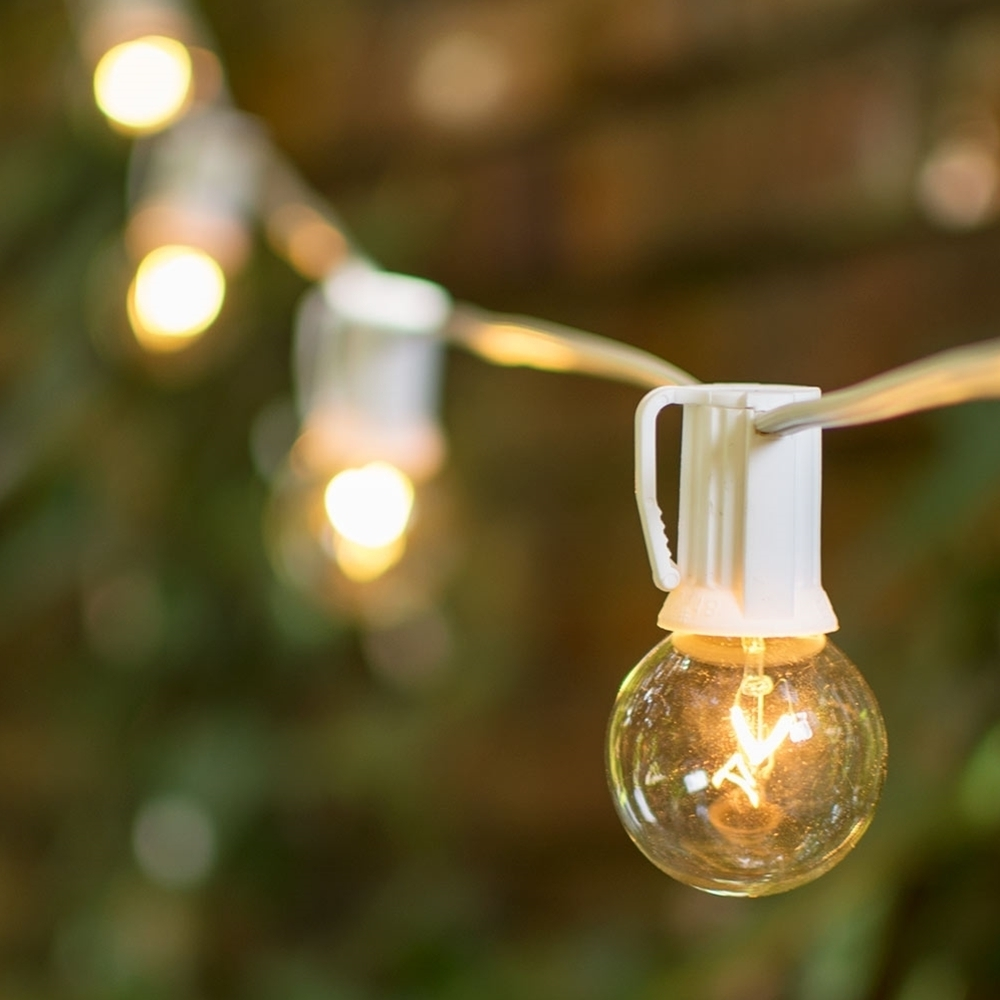 Outdoor : Winsome Patio String Lights Idea Candelabra Socket Base Throughout Outdoor Hanging Lights Bulbs (#10 of 15)