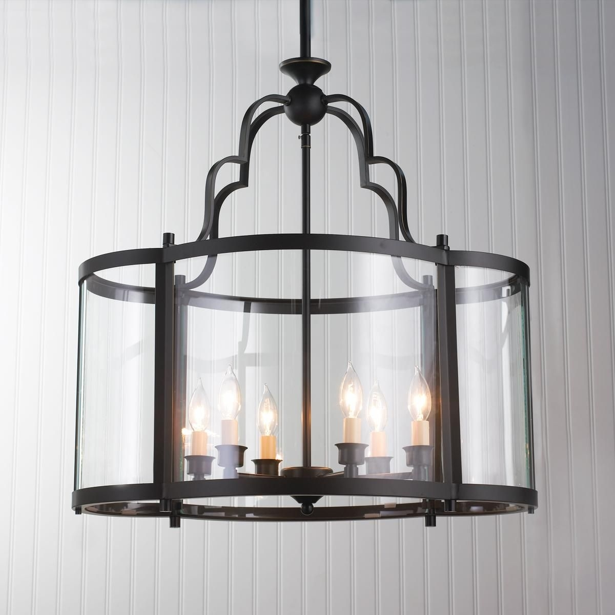 Oval Quatrefoil Lantern – Large A New Twist On A Classic Glass Pertaining To Extra Large Outdoor Hanging Lights (#12 of 15)