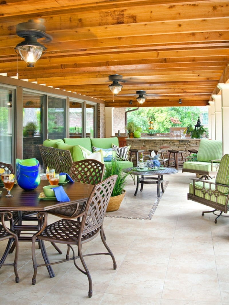 Patio Ceiling Lighting Ideas – Ownmutually Pertaining To Outdoor Deck Ceiling Lights (#12 of 15)