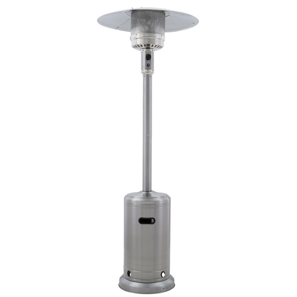 Patio Heaters – Outdoor Heating – The Home Depot Inside Outdoor Hanging Heat Lamps (#8 of 15)