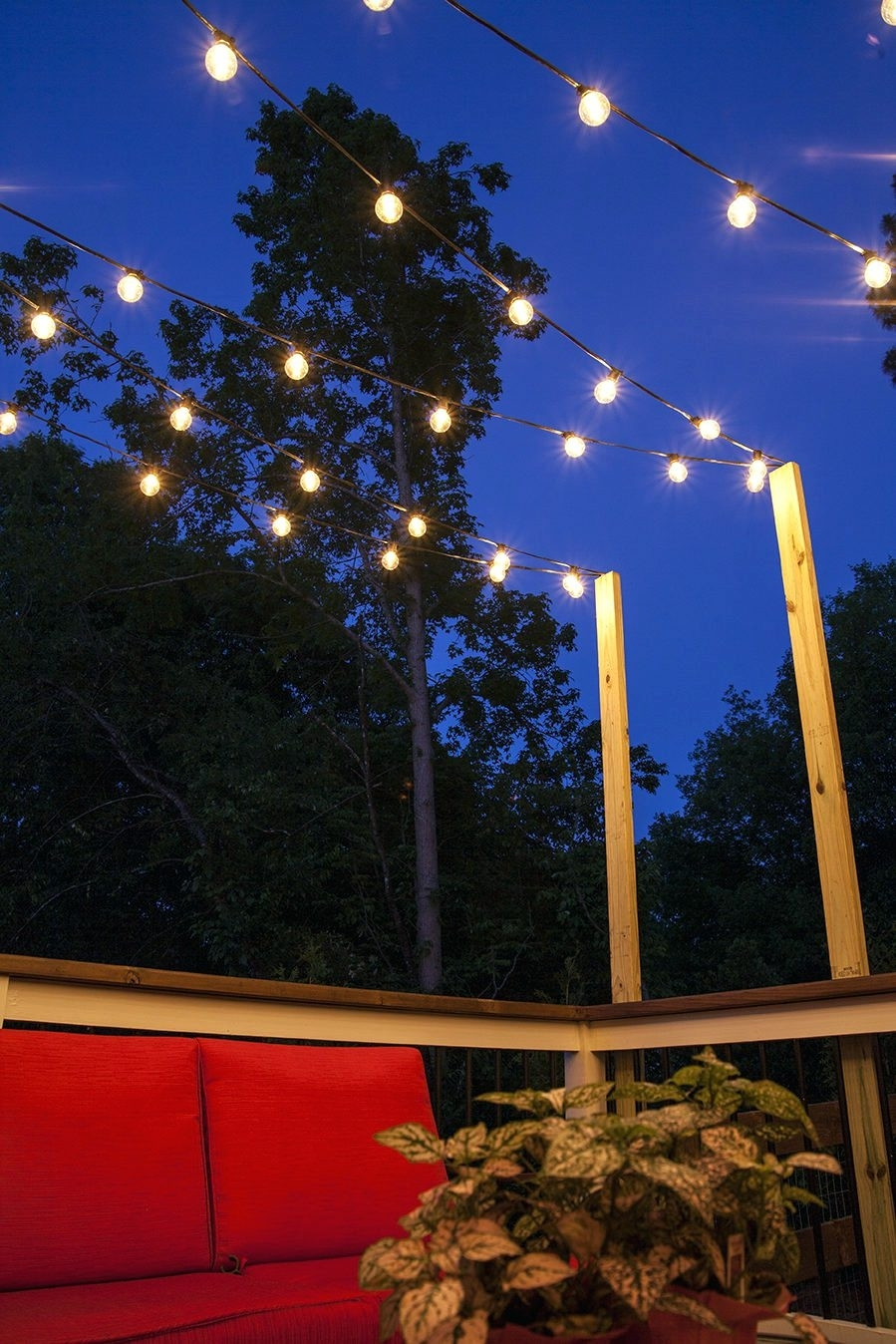 15 Best Collection Of Hanging Outdoor String Lights At Costco