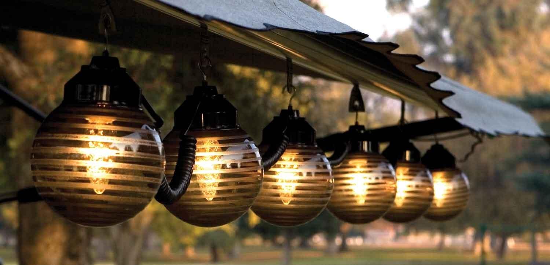 Patio Lighting Ideas | Love The Garden Pertaining To Modern Small Outdoor Solar Lights (#13 of 15)