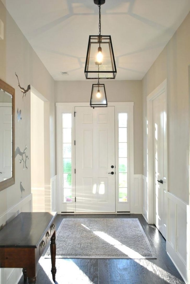 Inspiration about Pendant Light : Entry Pendant Light Foyer Lighting In Multi With Pertaining To Outdoor Entryway Hanging Lights (#1 of 15)