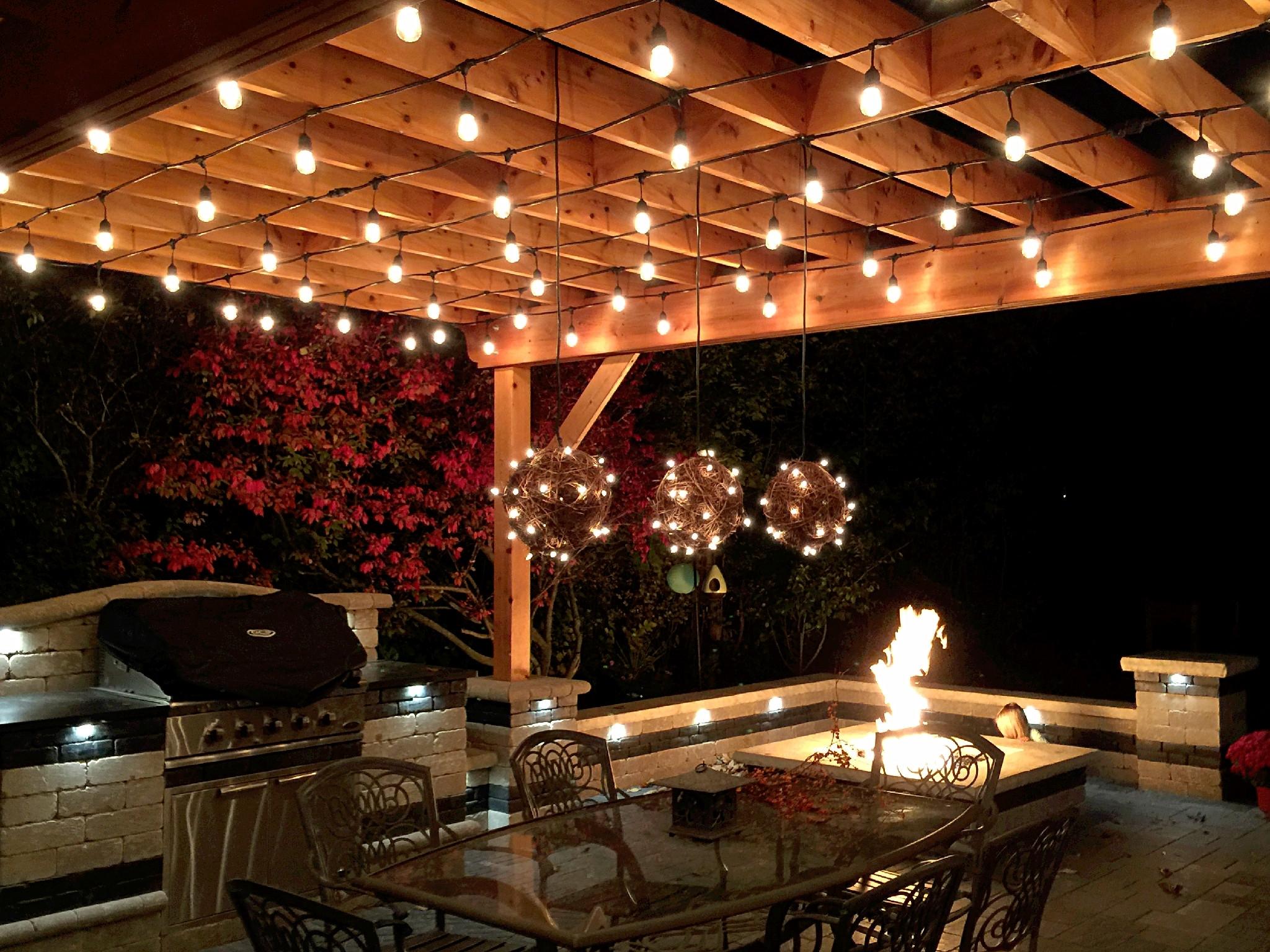 Inspiration about Pergola Design Ideas Outdoor Pergola Lighting Pergola Shade With Regard To Outdoor Hanging Lights For Pergola (#9 of 15)