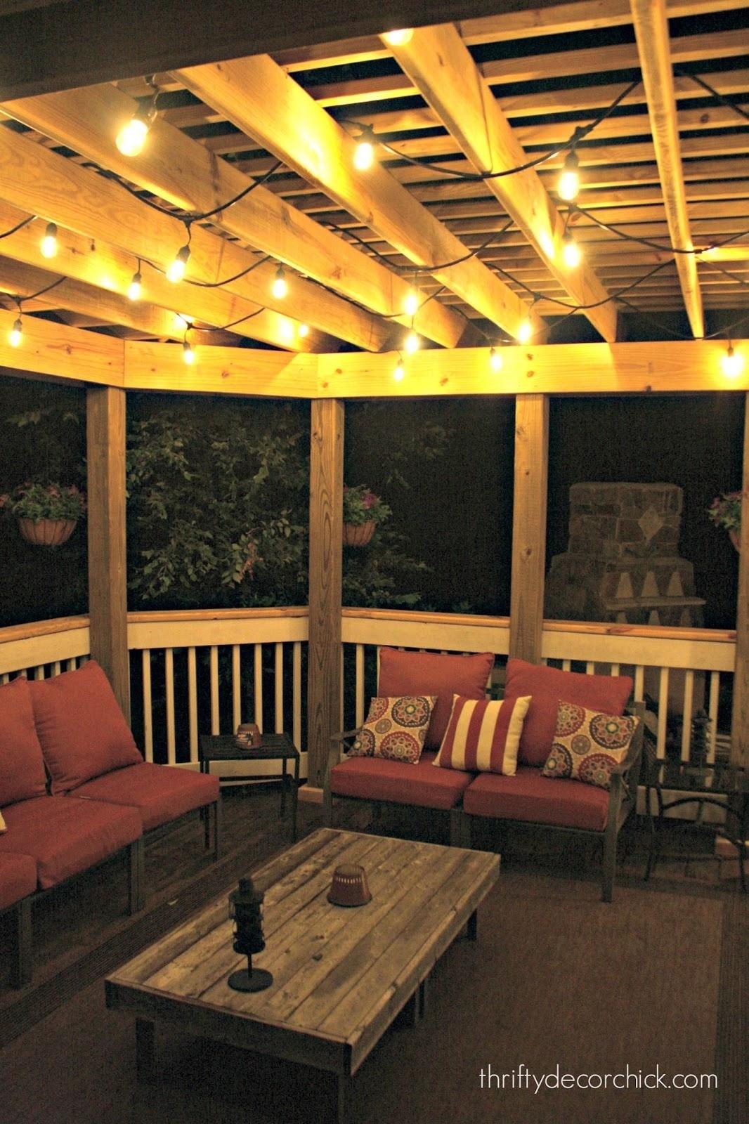 Pergola Design Ideas Pergola String Lights Best Outdoor Lights Regarding Modern Outdoor String Lights (#12 of 15)