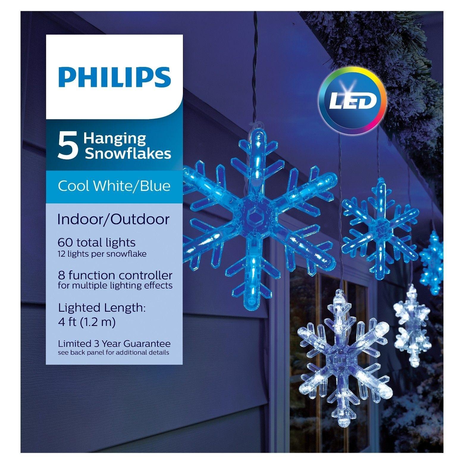 Philips Hanging Snowflakes – #christmasdecor #christmas | Christmas With Regard To Outdoor Hanging Snowflake Lights (#13 of 15)