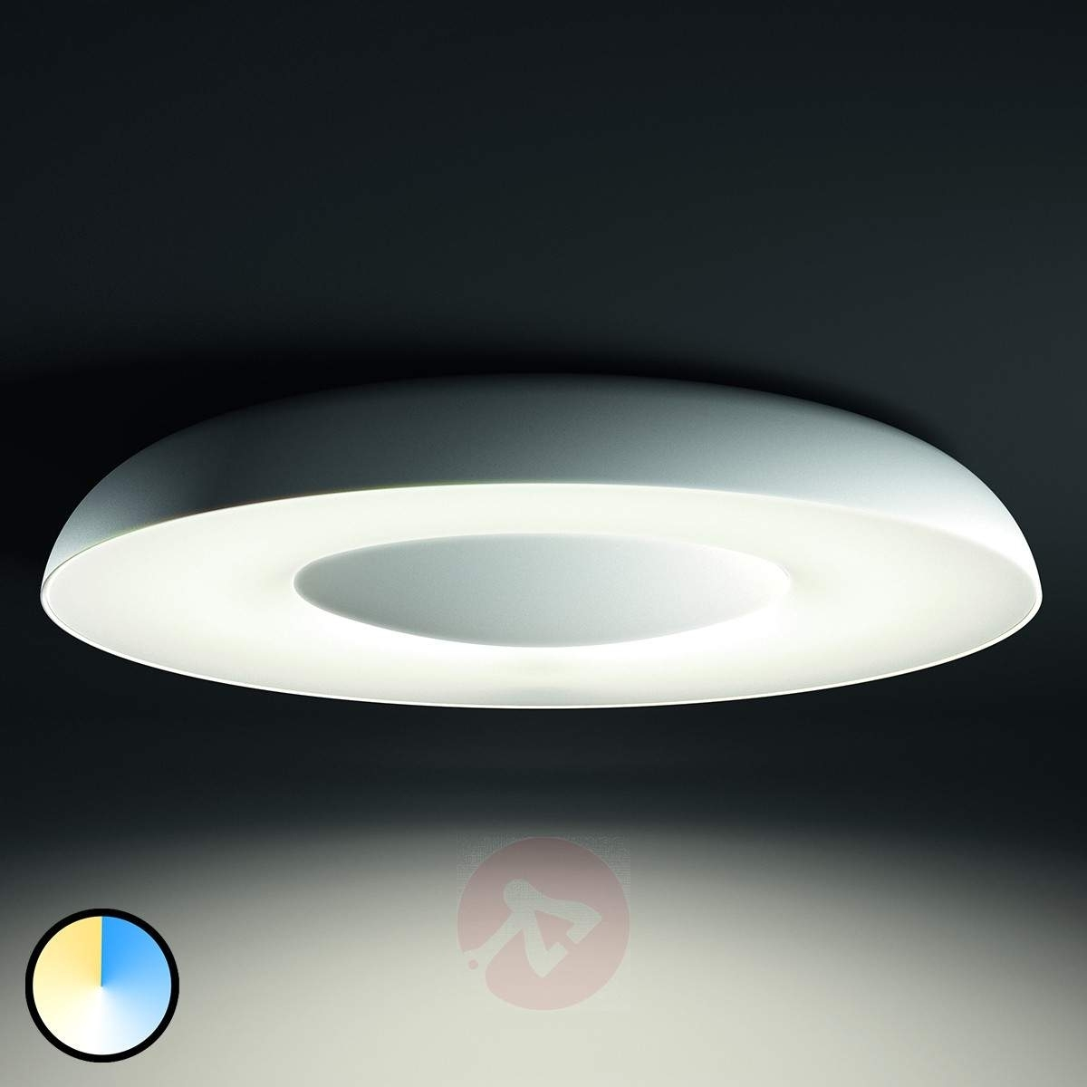 Inspiration about Philips Hue Led Ceiling Light Still In White | Lights.co.uk Regarding Philips Outdoor Ceiling Lights (#15 of 15)