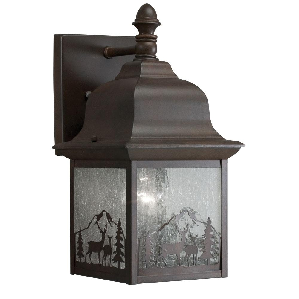 Inspiration about Photos Of Led Outdoor Wall Lights Latern: 15 Amazing Outdoor Wall Intended For Outdoor Wall Lighting At Menards (#13 of 15)