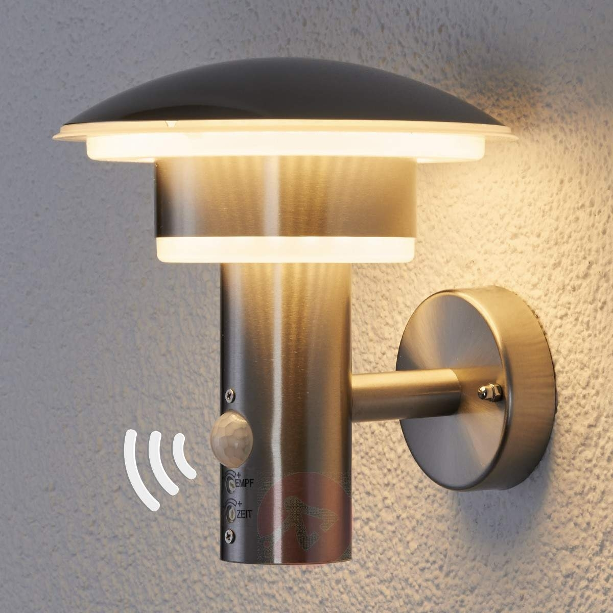 Inspiration about Pir Outdoor Wall Light Lillie With Leds | Lights.ie Throughout High Quality Outdoor Wall Lighting (#5 of 15)