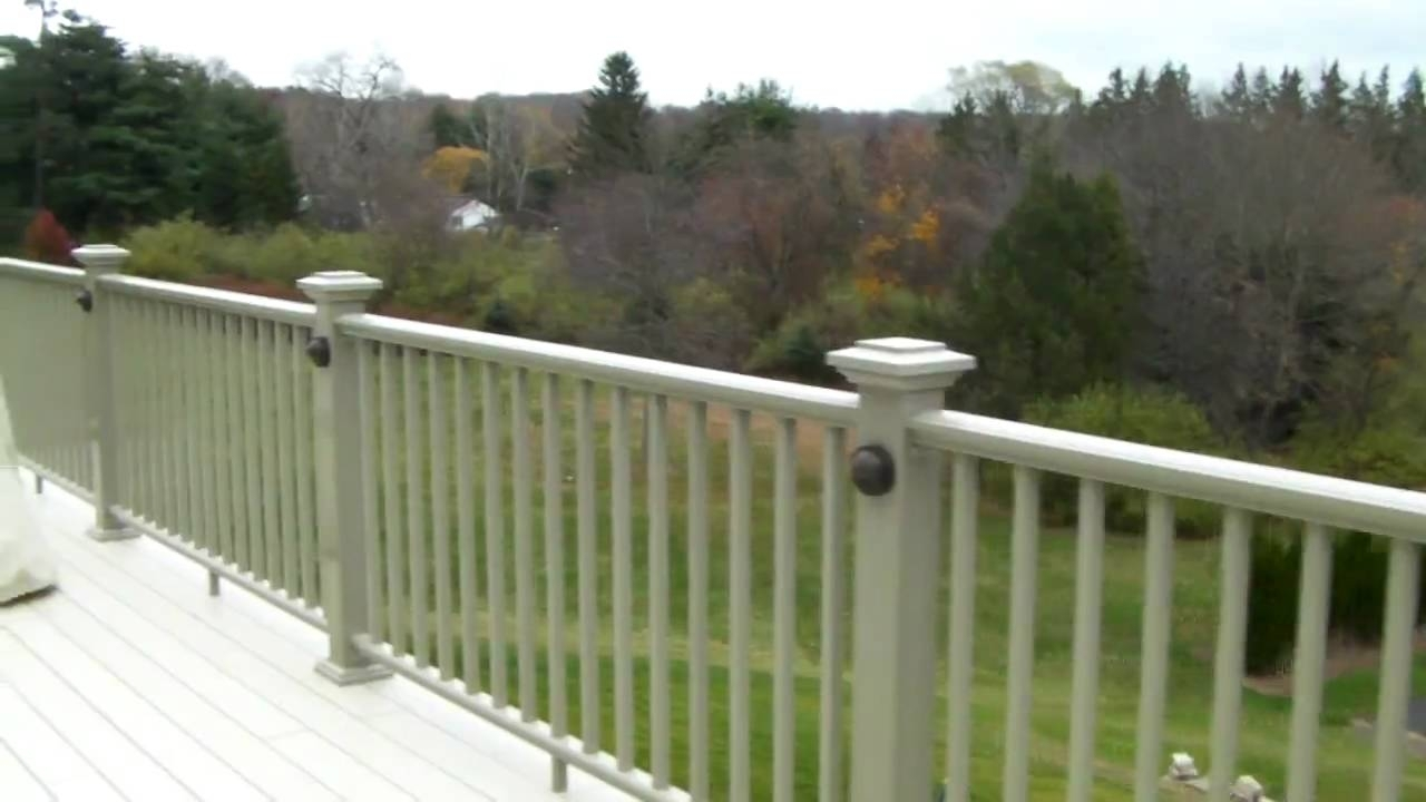 Planning On Lighting Your Deck With Low Voltage – Youtube Within Garden Low Voltage Deck Lighting (#14 of 15)