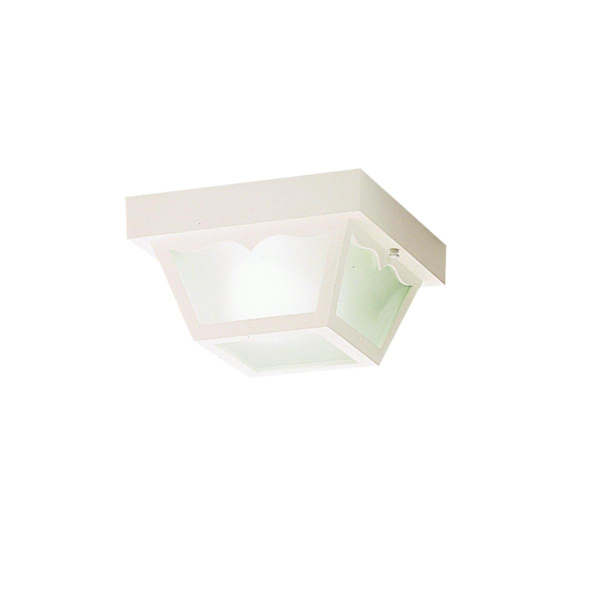 Inspiration about Plastic Outdoor Ceiling Lights: Deka Ingram Cm Silver Plastic Indoor In Plastic Outdoor Ceiling Lights (#11 of 15)