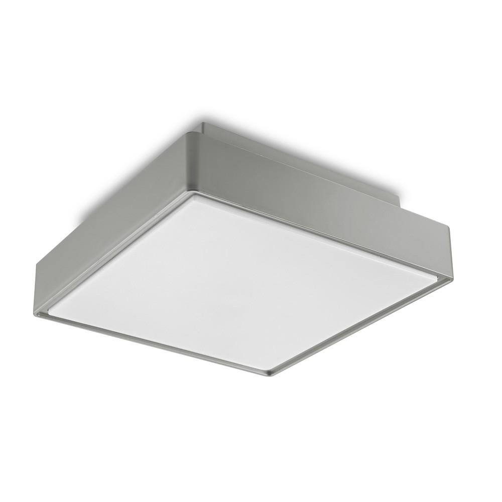 Inspiration about Plastic Outdoor Ceiling Lights: Deka Ingram Cm Silver Plastic Indoor Inside Plastic Outdoor Ceiling Lights (#13 of 15)