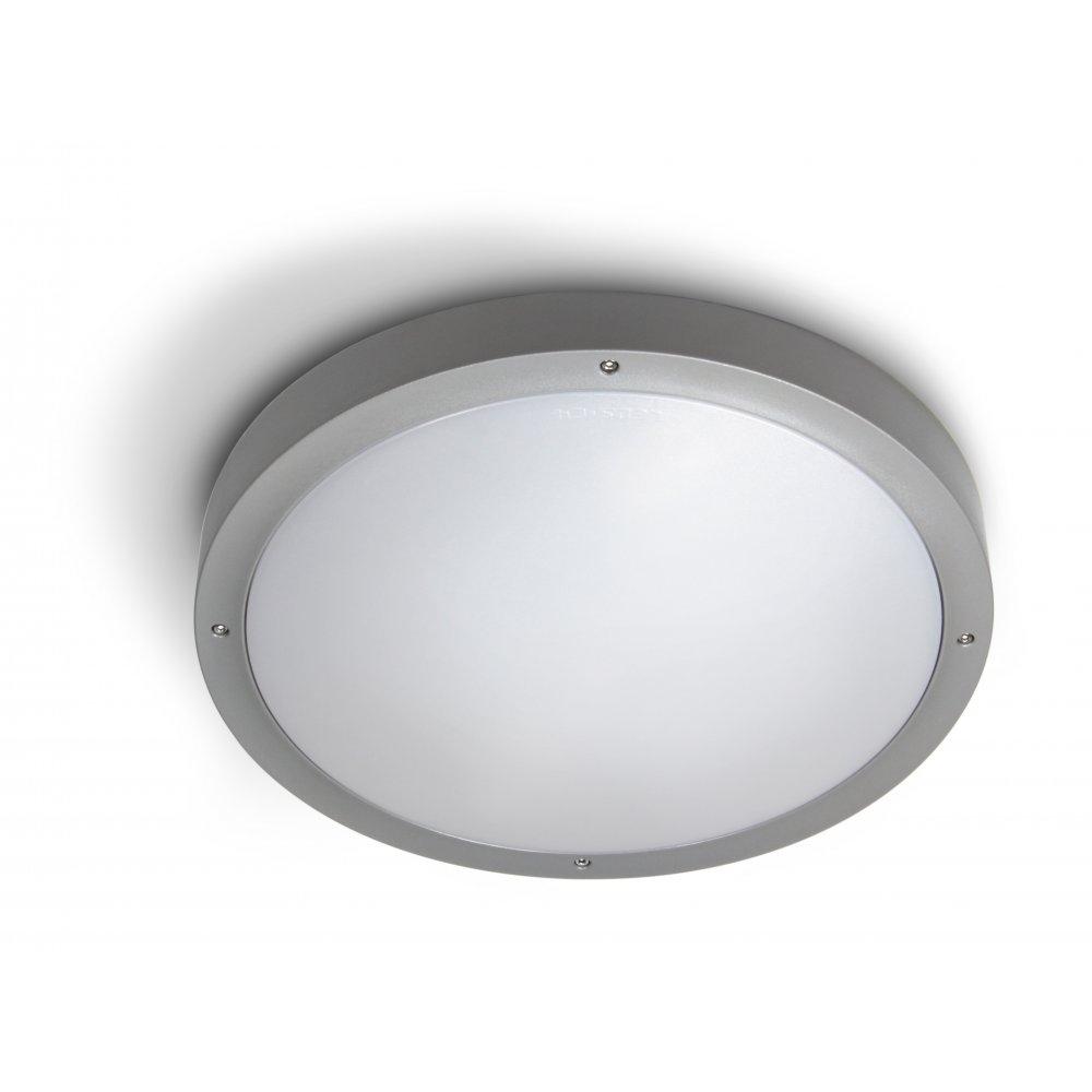 Plastic Outdoor Ceiling Lights: Deka Ingram Cm Silver Plastic Indoor Inside Plastic Outdoor Ceiling Lights (#9 of 15)