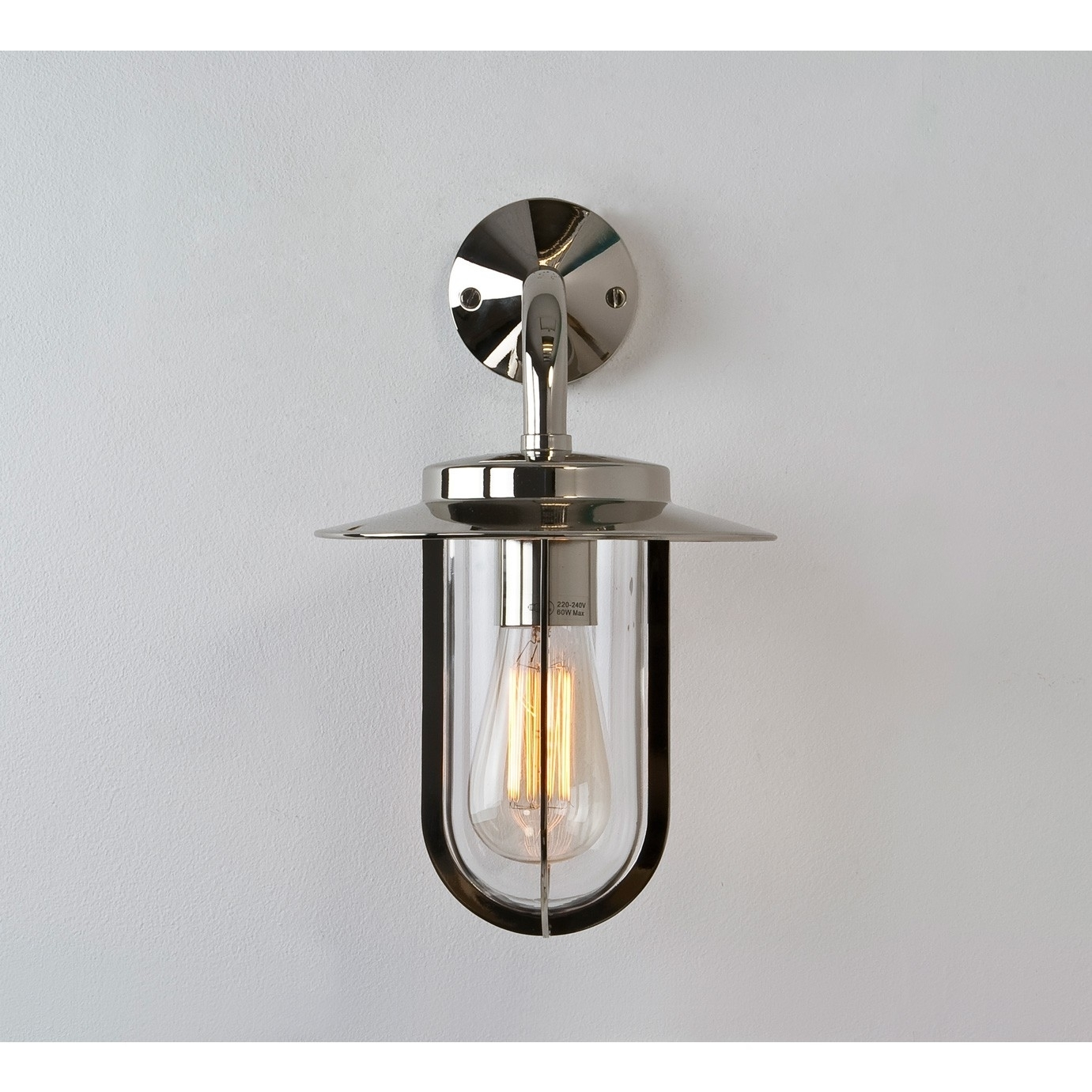 Inspiration about Polished Nickel Outdoor Wall Sconce • Wall Sconces With Nickel Polished Outdoor Wall Lighting (#9 of 15)