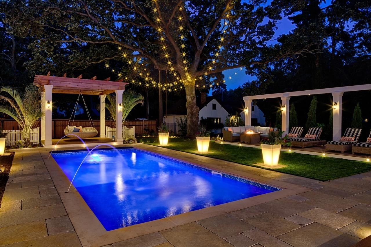 Inspiration about Pool Party Lights | Hometown Evolution Intended For Outdoor Hanging Pool Lights (#3 of 15)