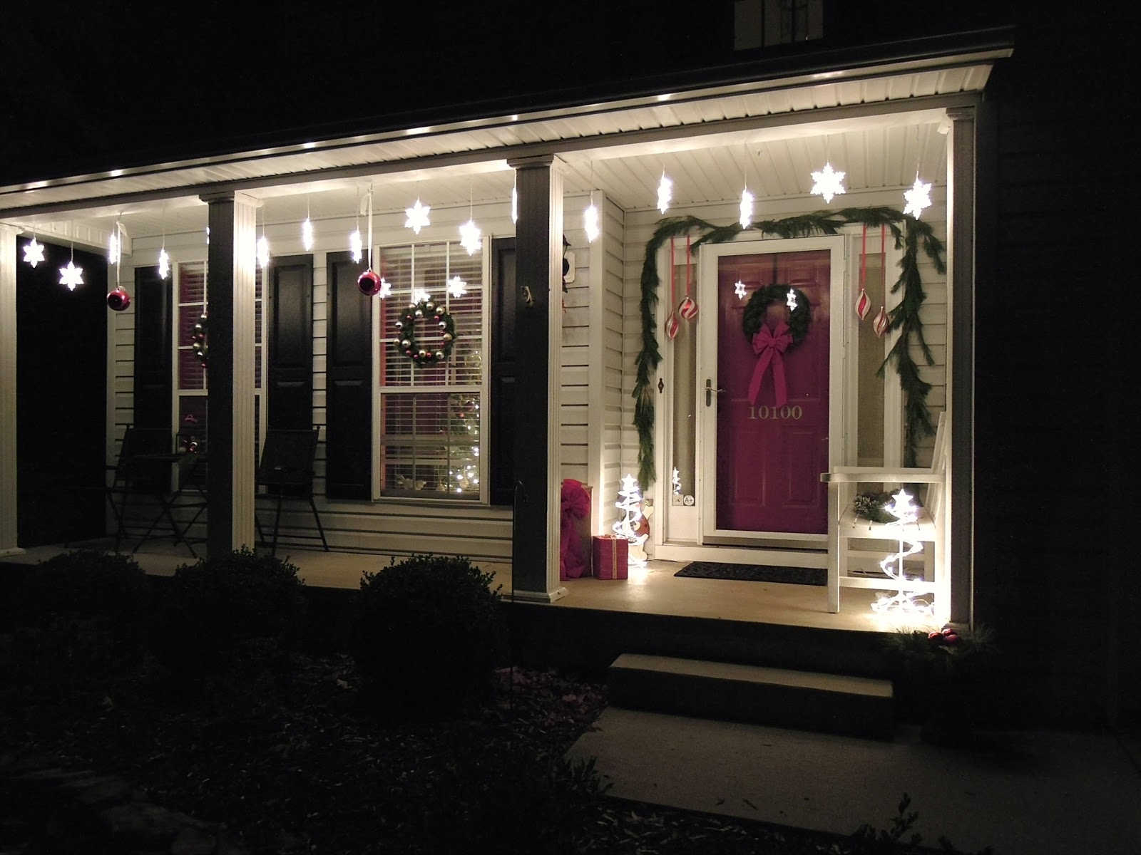 Inspiration about Porch Decorations Inside Outdoor Hanging Lights For Christmas (#6 of 15)
