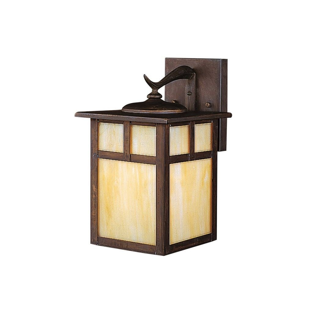 Porch Light Fixtures Mission Style Outdoor Lighting | House Regarding Mission Style Outdoor Ceiling Lights (#14 of 15)