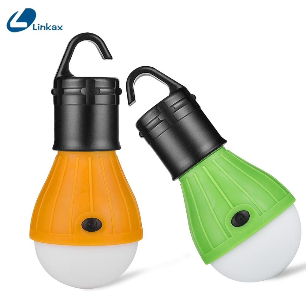 Portable Led Light Outdoor Hanging 3 Led Camping Lantern Soft Light With Regard To Outdoor Hanging Plastic Lanterns (View 11 of 15)
