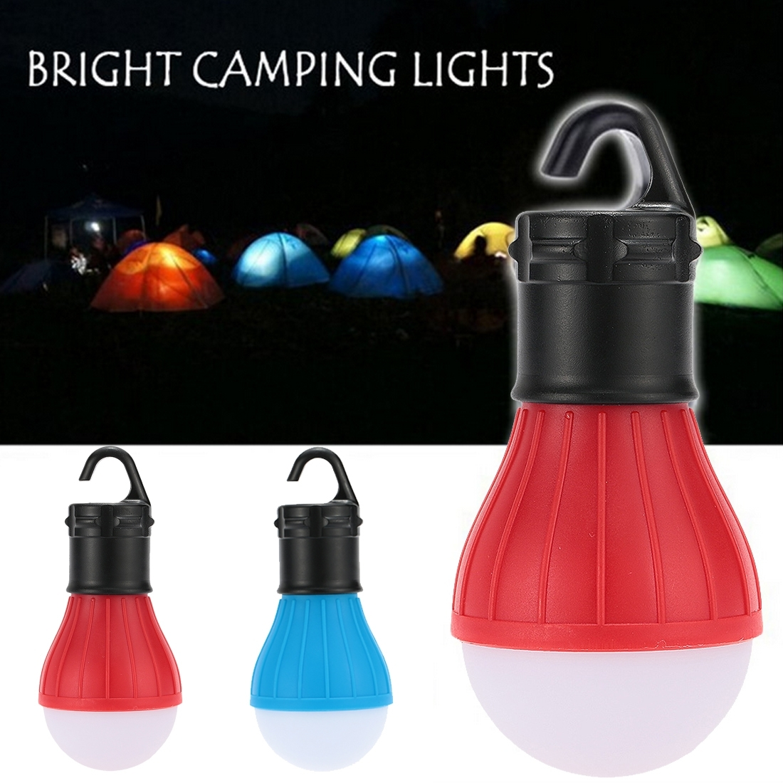 Portable Outdoor Hanging 3 Led Camping Lantern,soft Light Led Camp Within Outdoor Hanging Camping Lights (View 10 of 15)