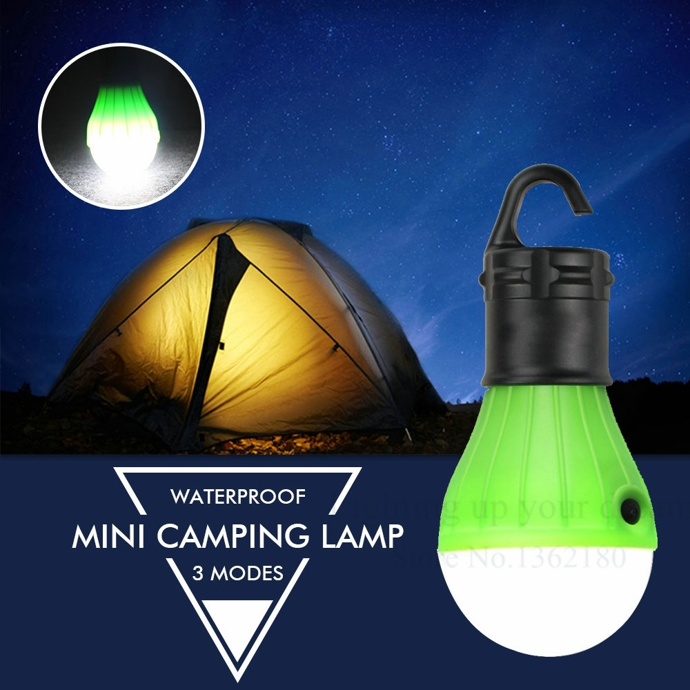 Portable Outdoor Hanging Tent Camping Light Lantern,soft Night Light With Regard To Outdoor Hanging Lanterns With Battery Operated (#13 of 15)