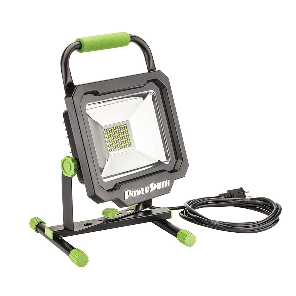 Portable – Work Lights – Commercial Lighting – The Home Depot With Regard To Outdoor Hanging Work Lights (#14 of 15)