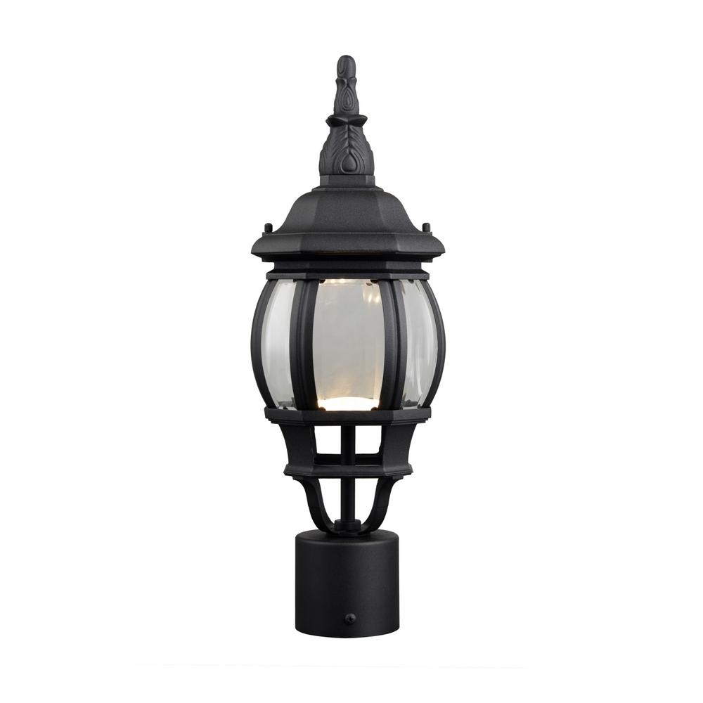 Post Lighting – Outdoor Lighting – The Home Depot With Outdoor Led Post Lights Fixtures (View 7 of 15)