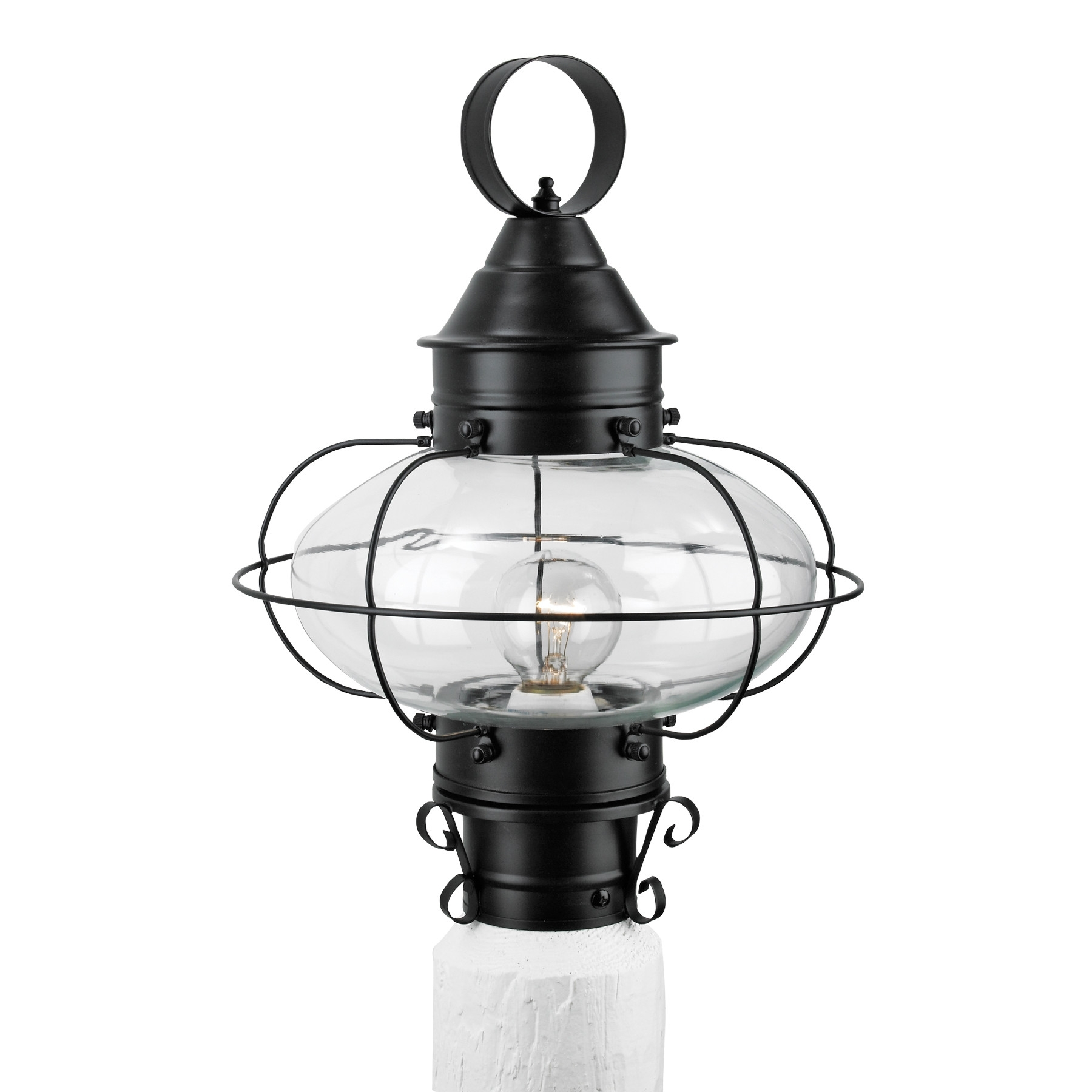Post Lights Wayfair Cottage Onion 1 Light Outdoor Lantern ~ Loversiq In Wayfair Led Post Lights (#9 of 15)