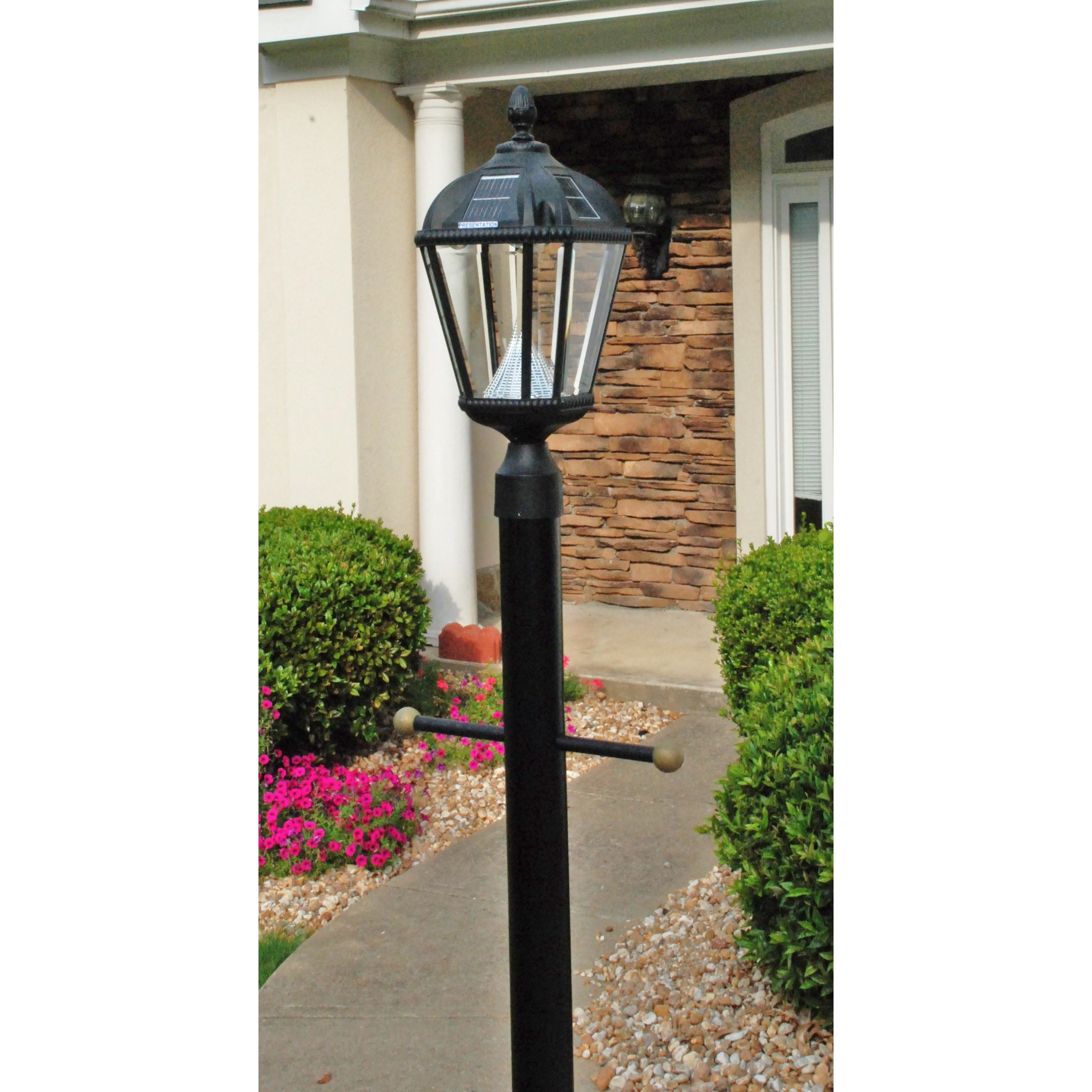 Post Lights Wayfair Royal Seven Led Solar Light Fixture On Three Throughout Wayfair Led Post Lights (#11 of 15)