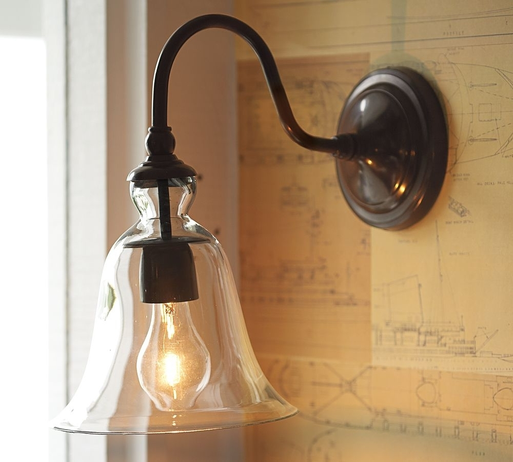 Inspiration about Pottery Barn Bathroom Wall Sconces • Wall Sconces Throughout Residential Outdoor Wall Lighting (#1 of 15)