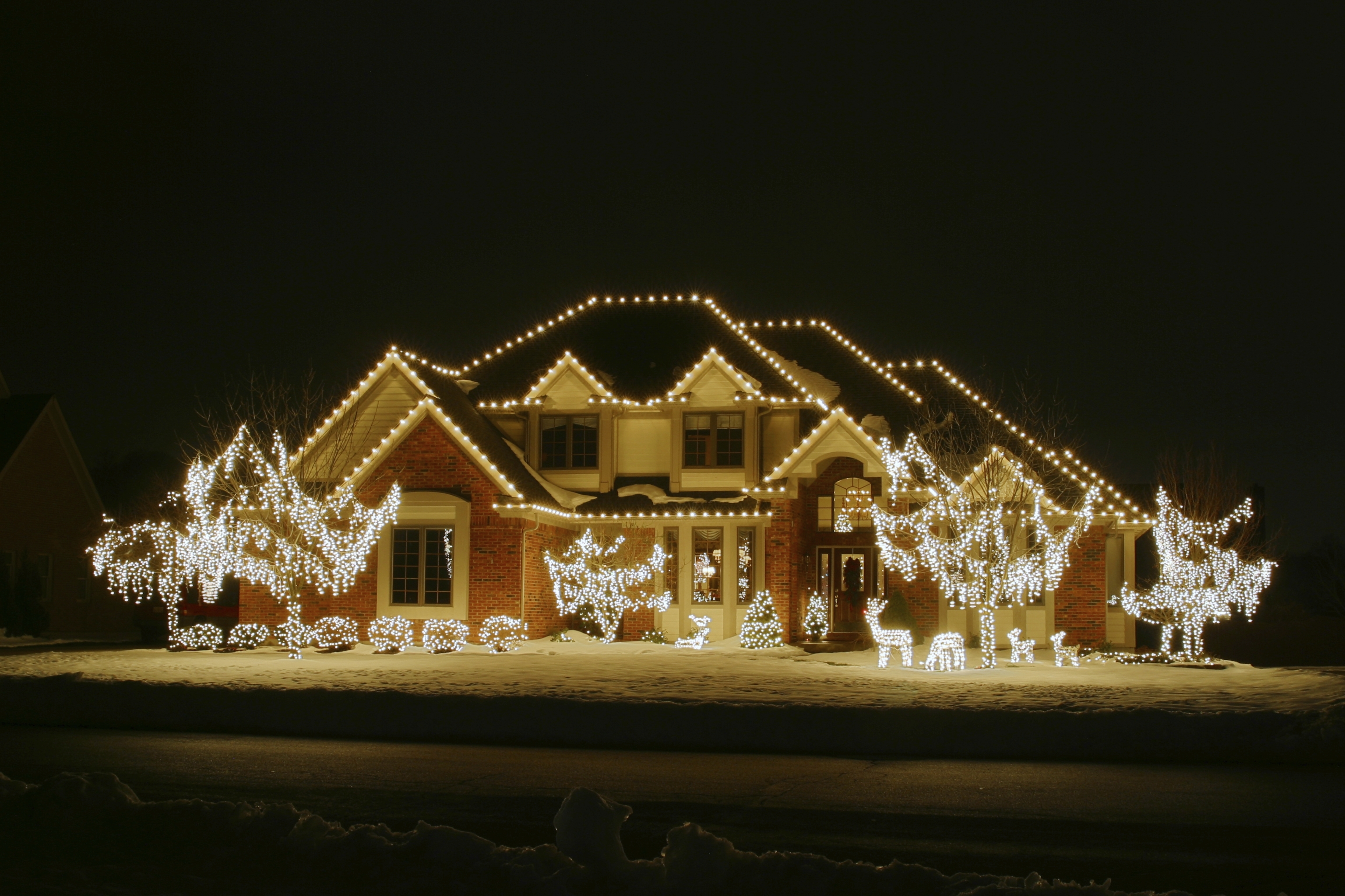 Inspiration about Professional Christmas Light Installation Greenville | Greenville's Within Hanging Outdoor Holiday Lights (#6 of 15)