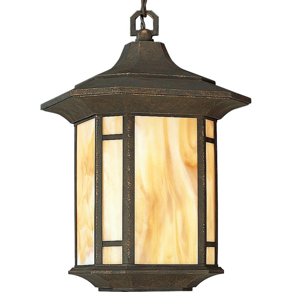Inspiration about Progress Lighting Arts And Crafts Collection Weathered Bronze For Craftsman Outdoor Ceiling Lights (#8 of 15)