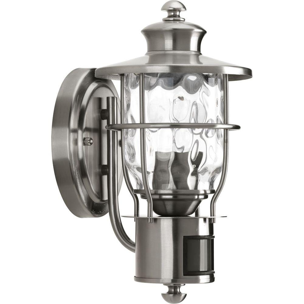 Inspiration about Progress Lighting Beacon Collection 1 Light Stainless Steel Motion With Regard To Stainless Steel Outdoor Ceiling Lights (#12 of 15)