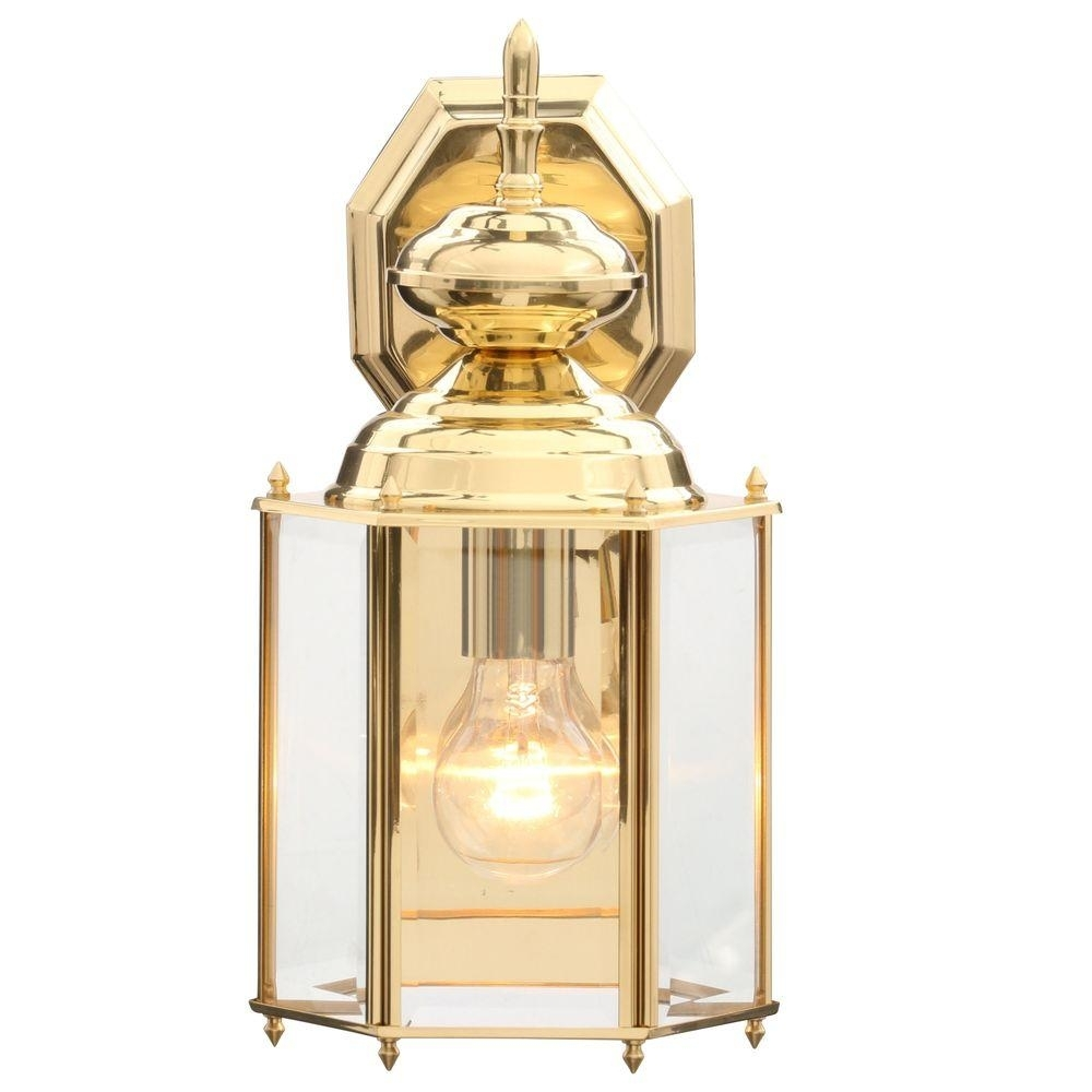 Progress Lighting Brass Guard Collection 7 Inch Polished Brass In Polished Brass Outdoor Wall Lighting (#10 of 15)