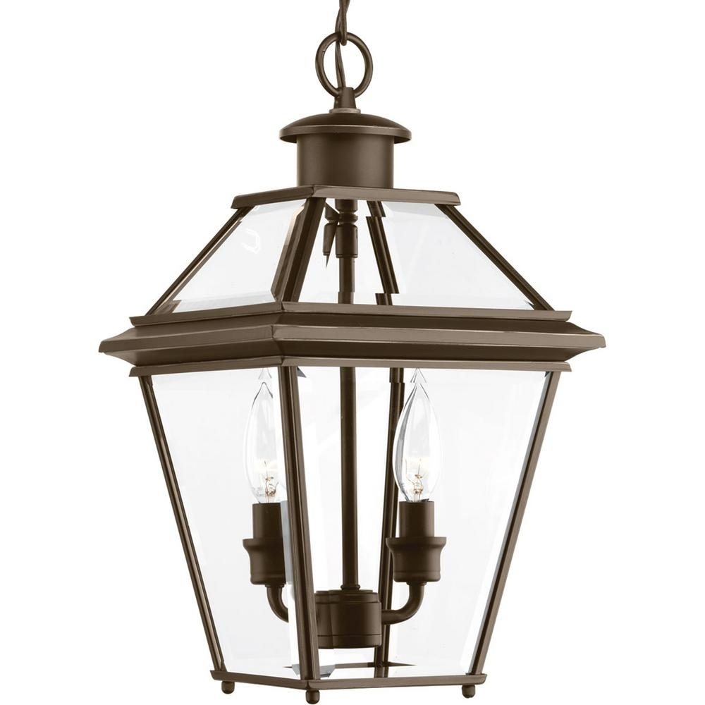 Inspiration about Progress Lighting Burlington Collection 2 Light Outdoor Antique Within Antique Outdoor Hanging Lights (#11 of 15)